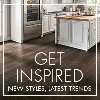 Get inspired by the latest trends in flooring - stop by our showroom to see the latest styles and colors!
