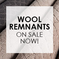 Wool Remnants on sale now!