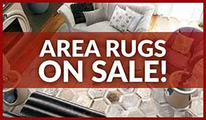 In-stock area rugs on sale up to 75% off during our Home for the Holidays storewide flooring sale.