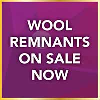 Wool remnants sale at Port City Flooring