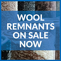 Wool remnants on sale!